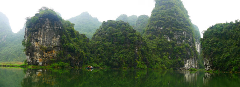 Panorama shot in Trang an